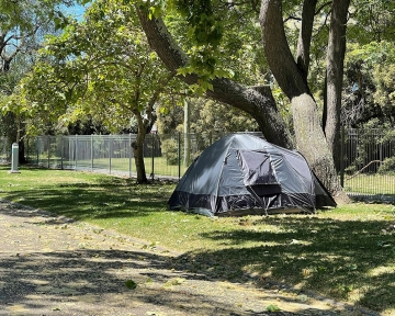 Powered Front Tent Sites - Exterior
