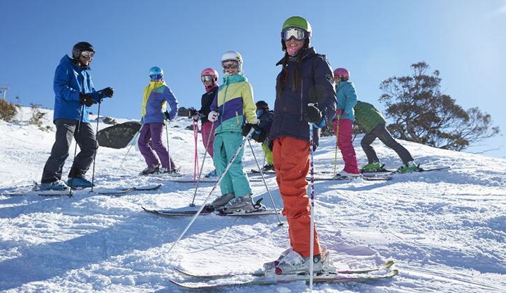 The perfect snow location at NRMA Jindabyne Holiday Park