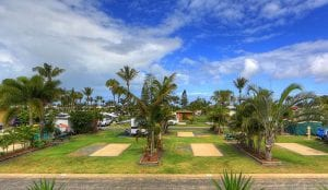 Powered caravan and camp sites in Yeppoon